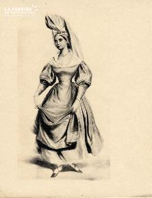 Costume normand Falaise