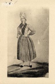 costume normand-Femme de pêcheur