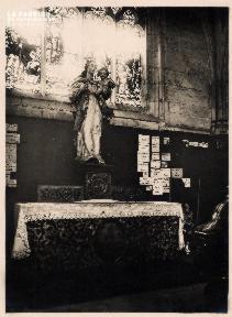 L'autel à la Vierge