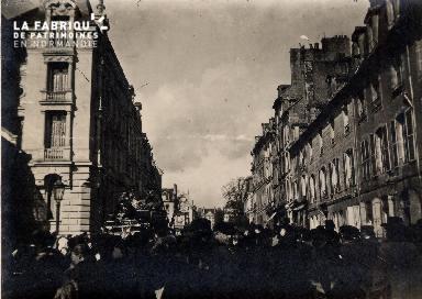 Caen-Grande parade foire 1902