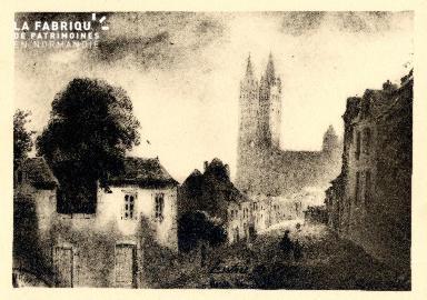 Caen-Route de Viller Le Nourichel 1844