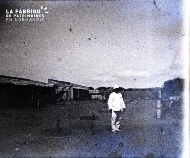 Afrique-Colon dans une propriété