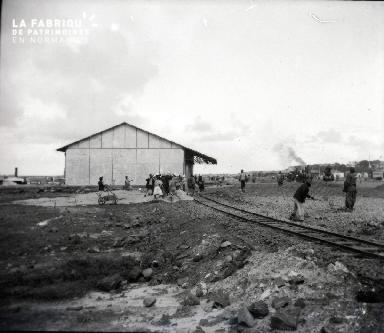 Afrique-Construction d'une gare