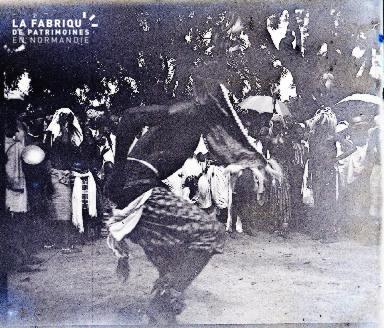 Afrique-Homme dansant