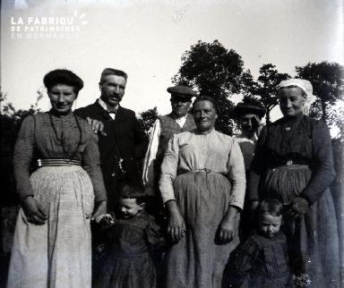 Famille de campagnards