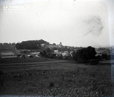 Fortin-Paysage de campagne 1917