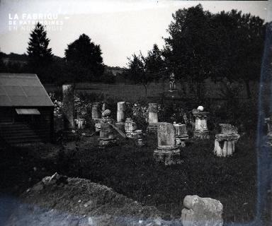Fortin-Restes de colonnes de l'Antiquité 1917