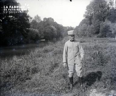 Le Chène - Sur l'Aube - Une vue de l'Aube 17 Août 1916