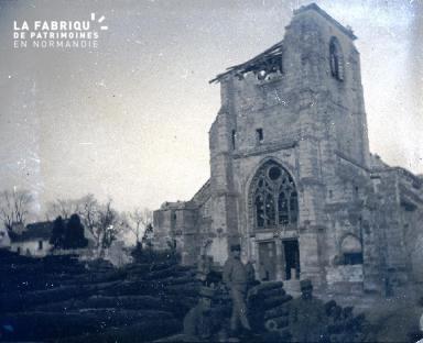 Marne-L'église de Cormicy2 Février1917