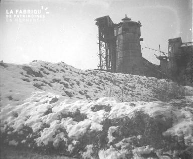 La sucrerie détruite de Mascon près de Berry-au-Bac - Février1917