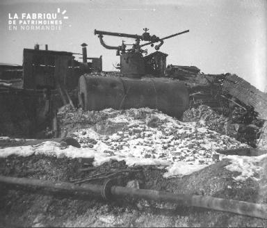 La sucrerie de Mascon près de Berry-au-Bac 2- Février1917