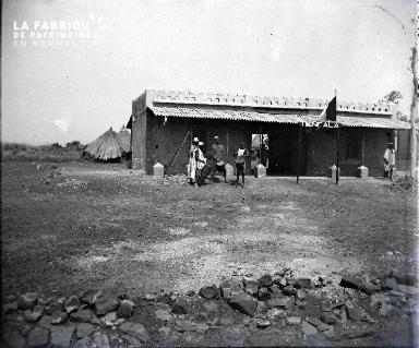 Musiciens africains à Tienfala (Afrique Occidentale française)