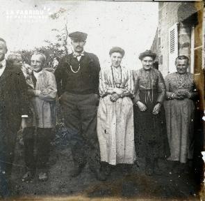 Permission-La famille à Bienamie 1909