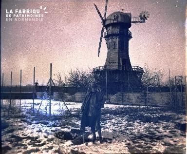 Pontavert-Le moulin de.Février 1917