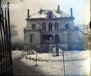 Château de Hédouville à Pontavert en février 1917