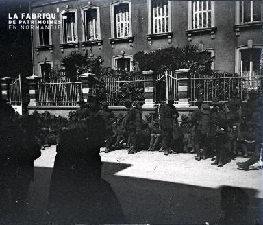 Soldats au repos