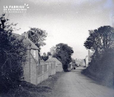 Une rue de campagne