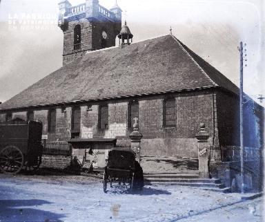 Vue d'une église