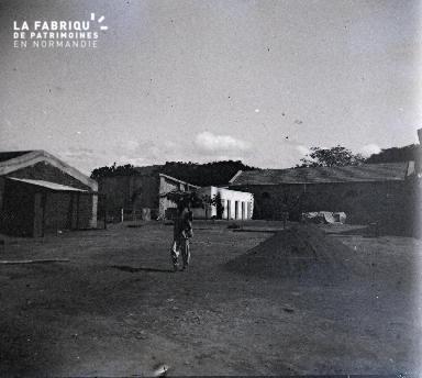 Vue d'une propriété africaine