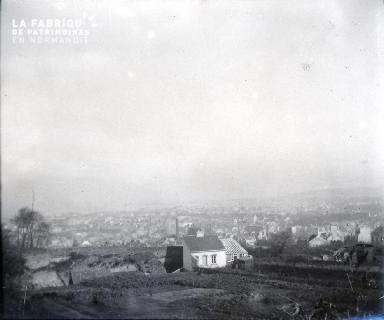 Vue générale d'une ville