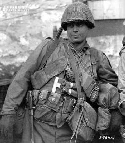 Portrait d'un soldat américain GI