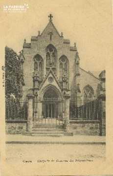 Cl 06 035 Caen-chapelle du couvent des bénédictines