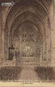 Cl 06 036 Caen-monastère des bénédictines du st sacrement-égiseexterie