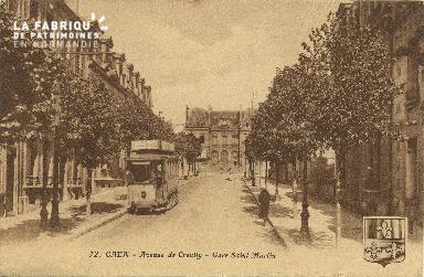 Cl 06 042 Caen-Avenue de creully-gare Saint Martin