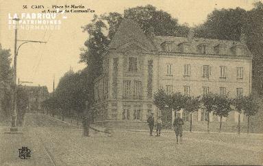 Cl 06 051 Caen-place Saint Martin et avenue de courseulles