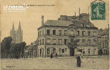 Cl 06 052 Caen-place Saint Martin et avenue de Courseulles