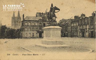 Cl 06 056 Caen-place Saint Martin