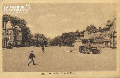 Cl 06 057 Caen-place Saint Martin