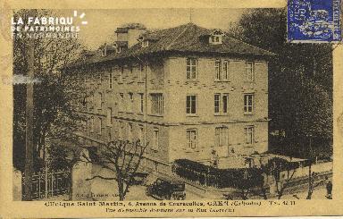Cl 06 059 Caen- clinique Saint Martin,6avenue de Courseulles-vue d'ensemb