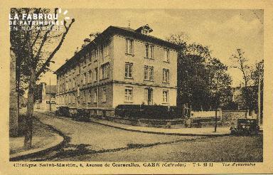 Cl 06 061 Caen-clinique Saint Martin,6 avenue de Courseulles-vue d'ensemb