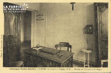 Cl 06 066 Caen clinique Saint Martin-bureau du docteur (1er étage)