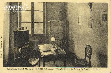 Cl 06 067 Caen-clinique Saint Martin-le bureau du docteur (2e étage)