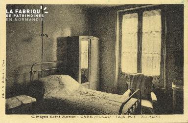 Cl 06 068 Caen-clinique Saint Martin-une chambre