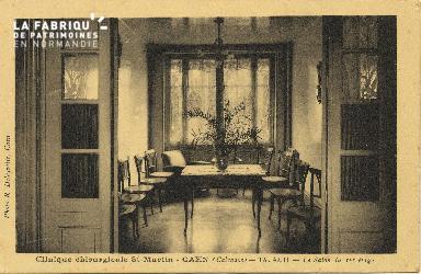 Cl 06 071 Caen-clinique chirurgicale Saint Martin-le salon du 1er étage