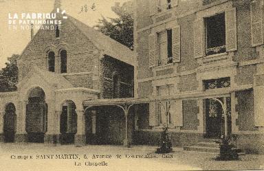 Cl 06 073 Caen-clinique Saint Martin-6 avenue de Courseulles-la chapelle