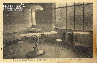 Cl 06 076 Caen-clinique Saint Martin-Une salle d'opération