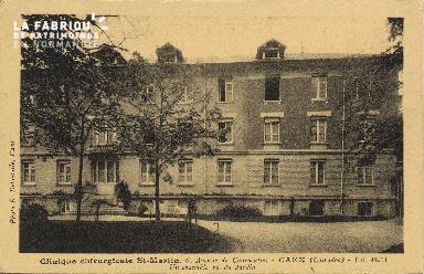 Cl 06 077 Caen-clinique chirurgicale Saint Martin-6 avenue de Courseulles