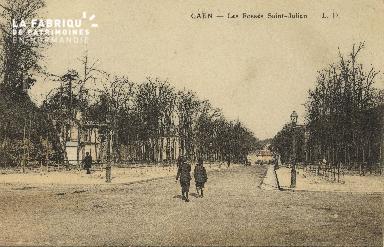 Cl 06 086 Caen-Les fossés St julien