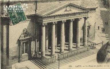 Cl 06 087 Caen-Le palais de justice