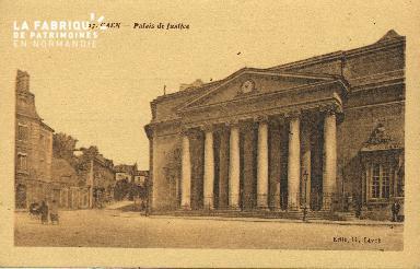 Cl 06 089 Caen-Palais de justice