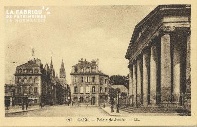 Cl 06 091 Caen-Palais de justice