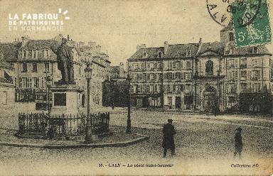 Cl 06 106 Caen-La place St Sauveur