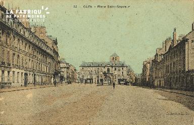 Cl 06 112 Caen-Place St Sauveur