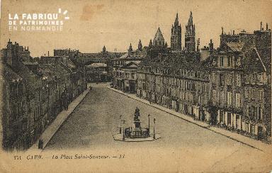 Cl 06 113 Caen-Place St Sauveur