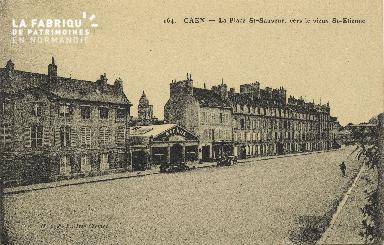 Cl 06 116 Caen-La place St Sauveur, vers le vieux St Etienne