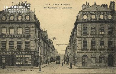 Cl 06 119 Caen-Rue Guillaume le Conquérant